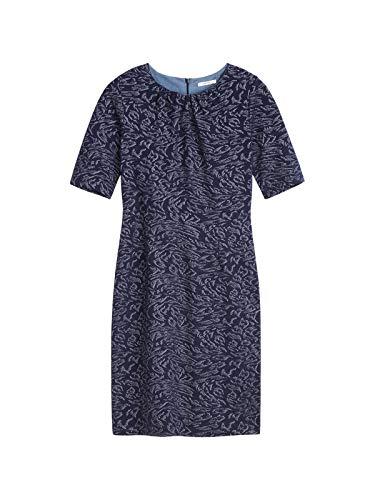 Sandwich Damen Tailliert geschnittenes Kleid mit Print