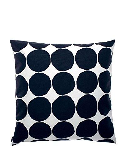 Marimekko - Kivet Pienet - Kissenhülle/Kissenbezug - schwarz/weiß - 50 x 50 cm