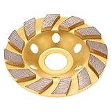 Altsommer New Grinding Schalen Rad, Diamond Segment Grinding Wheel Disc Grinder Cup Concrete Stone Cut für Marmorfliese Beton und Fels Rasenmäher Elektrisches Gartenwerkzeug - 100mm 4 Zoll