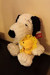 Plush Peanuts Snoopy Dog and Woodstock Bird Stuffed Character Toys Camp Snoopy Merchandise