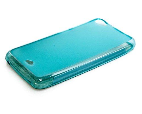 caseroxx TPU-Hülle für Wiko Jimmy, Handy Hülle Tasche (TPU-Hülle in hellblau)