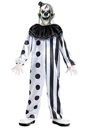 Fun World Costume de Clown Tueur pour Enfant TailleL (12-14Ans)