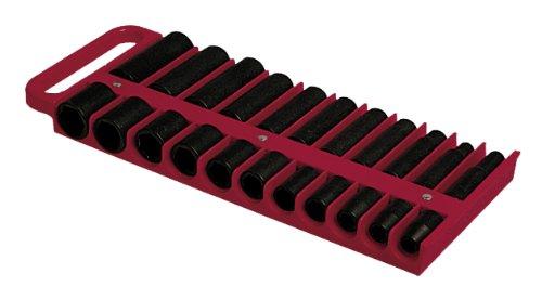 "Lisle 40900 Red 1/2"" Magnetic Socket Holder"