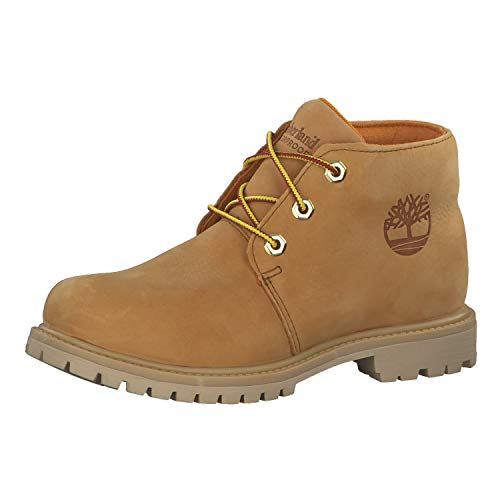 Timberland Damen Boots Nellie Paninara WP Chukka Wheat Full Grain 38