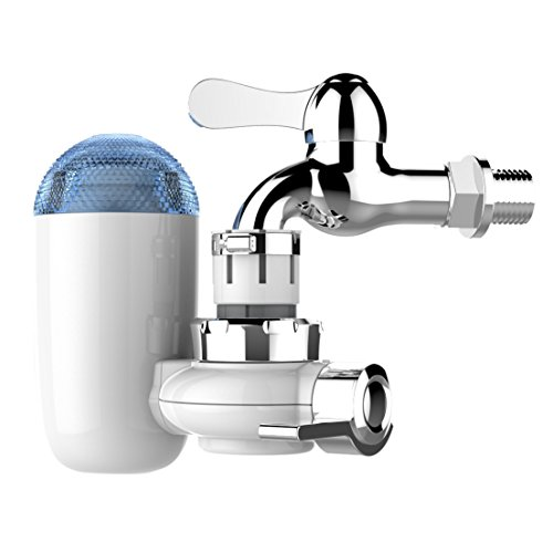 AnGeer Faucet Water Filter Pineapple Shaped Water Purifier System for Home