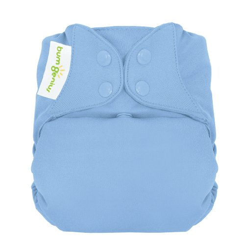 bumGenius Freetime All-In-One One-Size Snap Closure Cloth Diaper (Twilight)