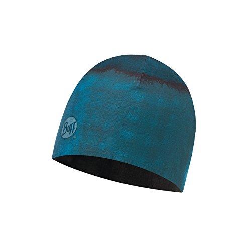 Buff Erwachsene Microfiber Reversible Hat Mütze, Rotkar Grey, One Size