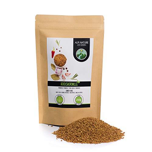 Semillas de fenogreco (250g), 100% naturales, veganas y sin aditivos, fenogreco en granos especia