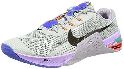 Nike Metcon 7, Chaussure de Marche Homme, lt Smoke Grey/Black-Violet haz, 42 EU