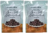 Trader Joe's Chocolate Covered Sea Salt Butterscotch Caramels 7oz Pack of 2