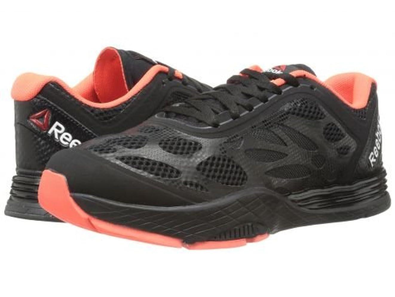 続編滅多相互接続Reebok(リーボック) レディース 女性用 シューズ 靴 スニーカー 運動靴 Cardio Ultra - Black/Vitamin C/Gravel [並行輸入品]