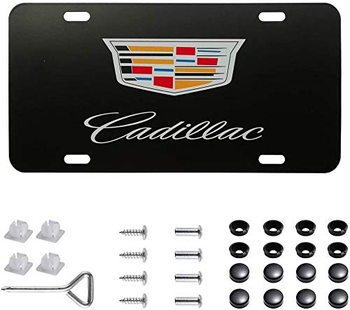 Heavy Duty Premium Lexus License Plate Cover for All Car Models, Stainless Steel Chrome Front License Plate Covers