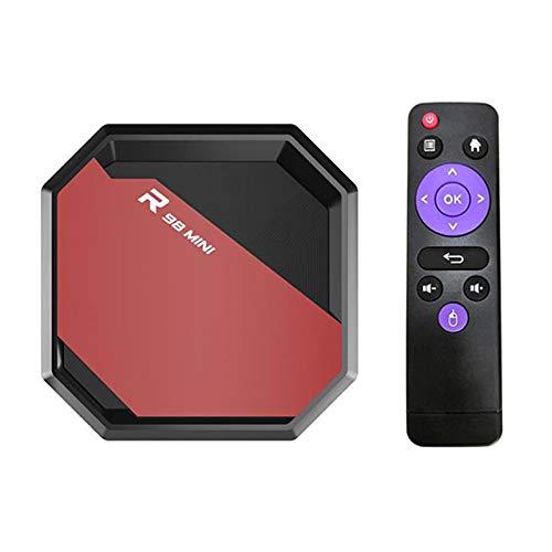 MXXQQ Android 10.1 Smart TV Box, 2 GB / 4 GB RAM 64GB / 32 GB / 16 GB ROM 4-Core RK3318 Android-TV-Box, H.265 60FPS Google Voice Assistant YouTube 8K TV-Stick,4GB+32GB