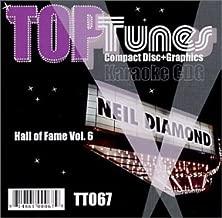 Top Tunes CDG TT-067 Hall of Fame Vol. 6 Neil Diamond