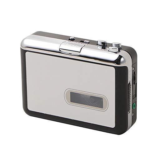 STKJ Reproductor De Cassette USB Portátil, Convertidor De Mp3, Grabadoras De Audio, Grabadoras De Música, Conversión De Walkman Tape Hi-Fi Old A Player