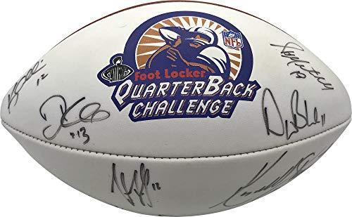 1998 QB Club Signed Autographed Football McNair Bledsoe JSA Authentic