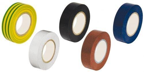 Eléctrico cinta aislante Electrical Tape 200 Ruedas Mix pack colores cinta adhesiva 15 mm x 10 mt: Amazon.es: Bricolaje y herramientas