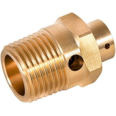"ST-4 Safety Pop Off Valve - Pressure Relief Valve 250 PSI, 1/2"" NPT, Replace for #131081 3559097 3403479 Safety Valve by Bonbo"