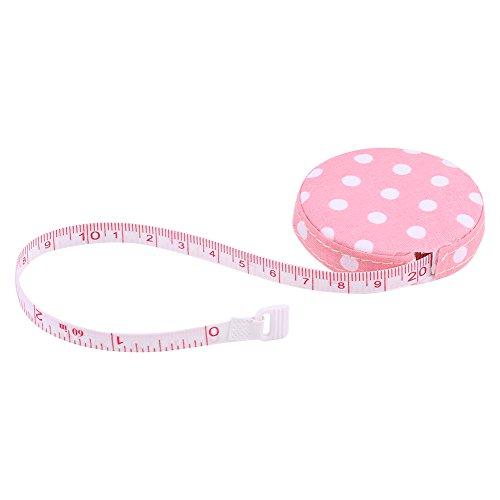 Règle rétractable de mesure pour le corps - 150 cm - Ruban adhésif - Poche en plastique - Pour travaux manuels - Outils de couture - Accessoires de bricolage (#3)