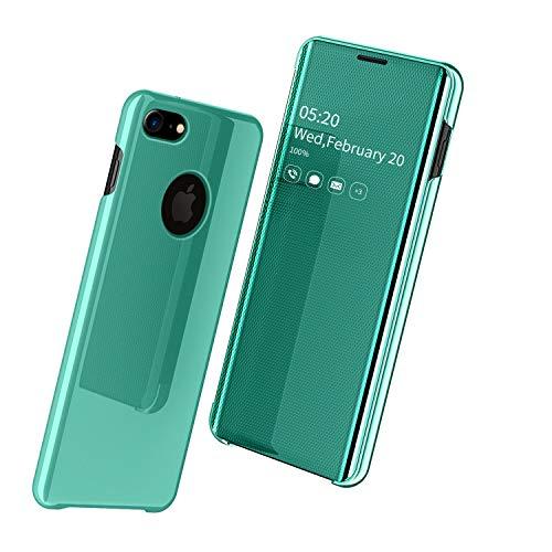 """Nadoli Mirror Hülle für iPhone 6S Plus 5.5"""",Luxus Ultradünn Clear View Vorderseite und Hart Zurück Spiegel Schlank Flip Schutzhülle Etui für iPhone 6S Plus/6 Plus 5.5"""""""
