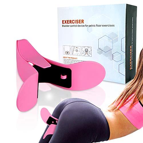Lifestyle Essentials Super Kegel Exerciser Pelvic Floor Muscle and Inner Thigh Exerciser Beautiful Buttocks Bladder Control Device Postpartum Rehabilitation Body Shaper Pelvic Floor Exerciser