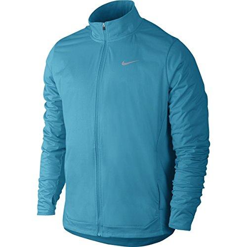 Nike - Chaqueta de running para hombre Shield Full Zip (azul) - S