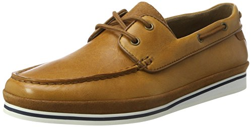 Aldo Men Fetsch Boat Shoes, Brown (Cognac), 12 UK