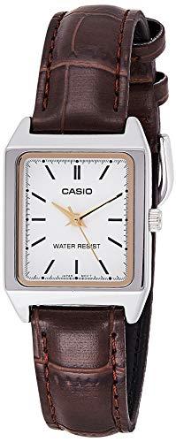 CASIO Reloj con Movimiento Cuarzo japonés LTP-V007L-7