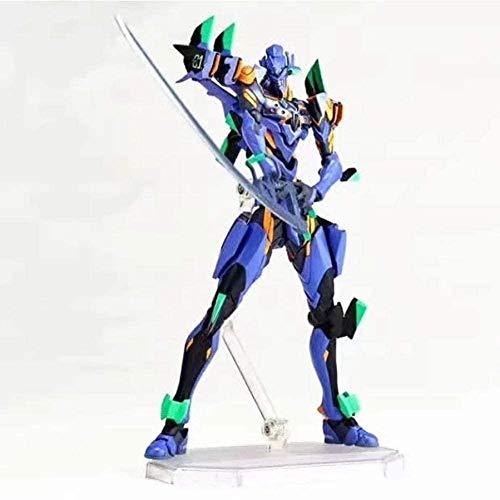 No Figura Genesis Evangelion Neon Yamaguchi Evangelion Evolution Eva 01 Modello Finale Evangelion da Collezione 17CM Decorazione Domestica Baiyujing