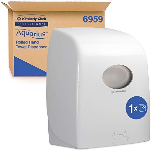 Aquarius Dispensador de toallas secamanos en rollo 6959, blanco