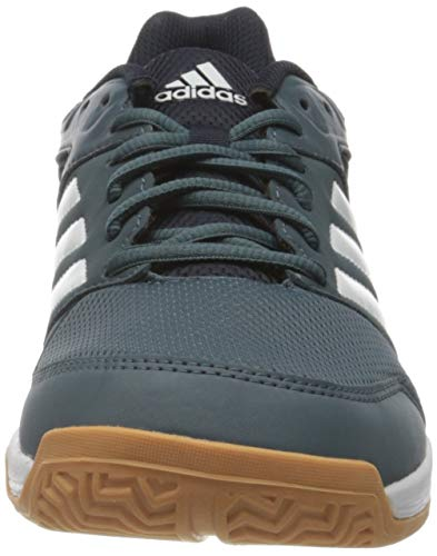 adidas Speedcourt, Handball Shoe Hombre, Legacy Blue/Footwear White/Legend Ink, 42 2/3 EU