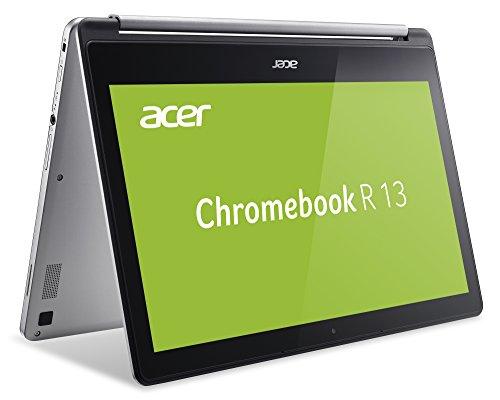 Acer, Chromebook r13, 2in1 convertible full-hd ips touch-display 4gb 32gb flash chrome os - ordenador portátil [Teclado Aleman QWERTZ]