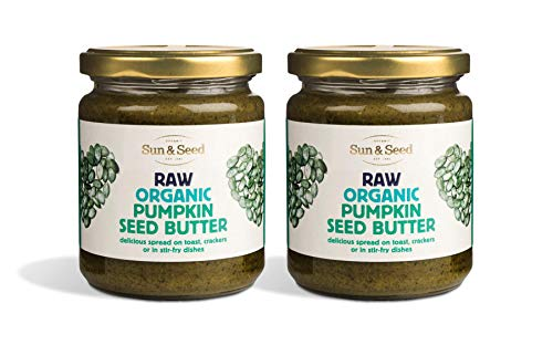 Sun and Seed – Organic Raw Nut Butter – Gluten Free and Keto Friendly – Ultra Healthy – Made With Only Raw Organic Nuts – Stone Ground (Pumpkin Seed, 2 Pack)