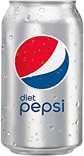 Diet Pepsi, Carbonated Soft Drink, Cans, 24 x 355 ml