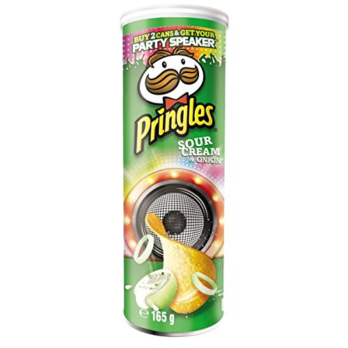 Patatas Fritas Sour Cream & Onion Pringles 165gr