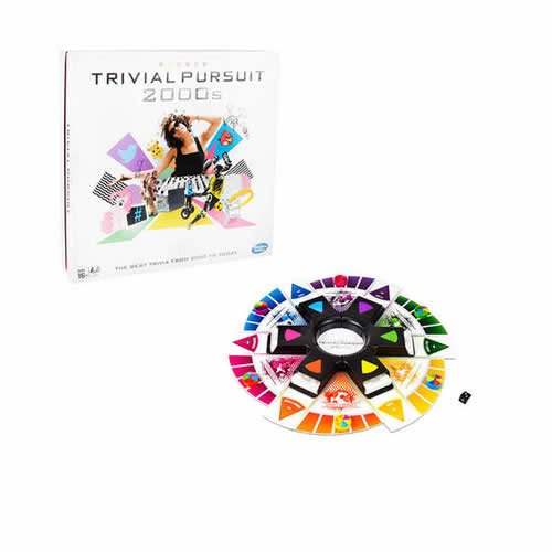 Hasbro Trivial Pursuit 2000 's Edition Game (Versione Inglese)