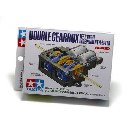 Tamiya 70168 Double Gearbox