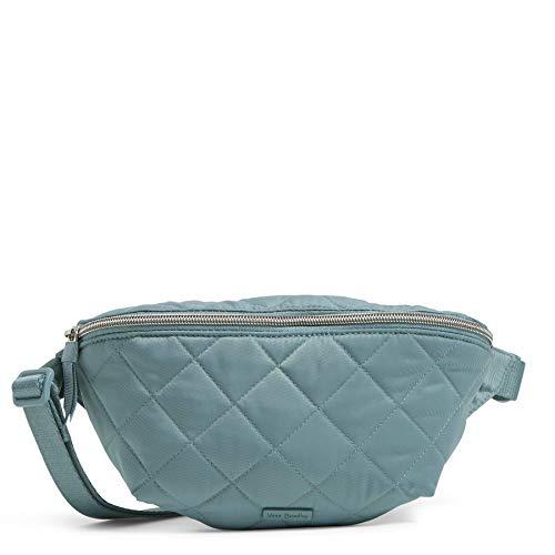 Vera Bradley Women s Performance Twill Convertible Crossbody Belt Bag with RFID Protection Purse, Blue Oar, One Size