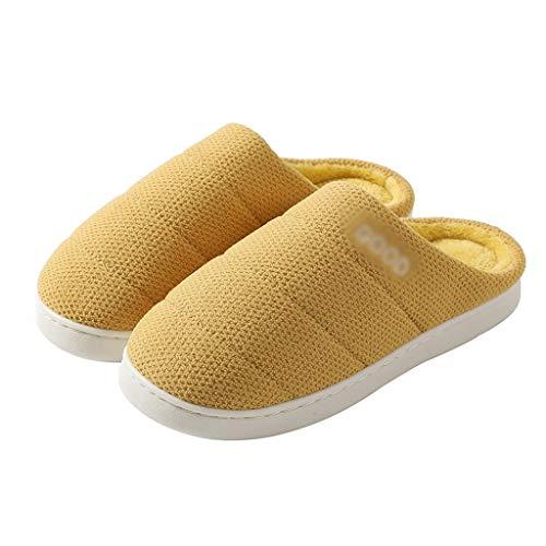 ZRL Antideslizante Zapatillas de Estar por Casa Zapatillas para Mujer Invierno Zapatos...