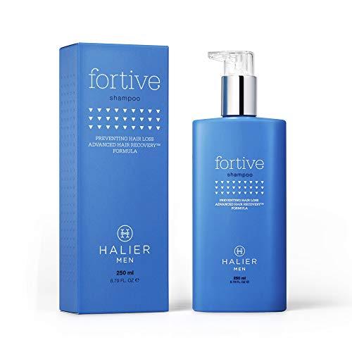 HALIER Shampoo für Männer, das das Haarwachstum stimuliert, Anti-Haarausfall, Shampoo für Männer mit Vitaminen, stärkt Haarfollikel und Haare, regeneriert das Haar, 250 ml