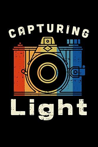 Capturing Light: FOTOGRAFEN UND KAMMERMANN NOTIZBUCH 6x9 (A5) 120 Seiten kariert! für Filmer & Kameramänner Fotografie,Theater, Liebhaber im Vintage ...   Journal    Wochenplaner   Organiser  