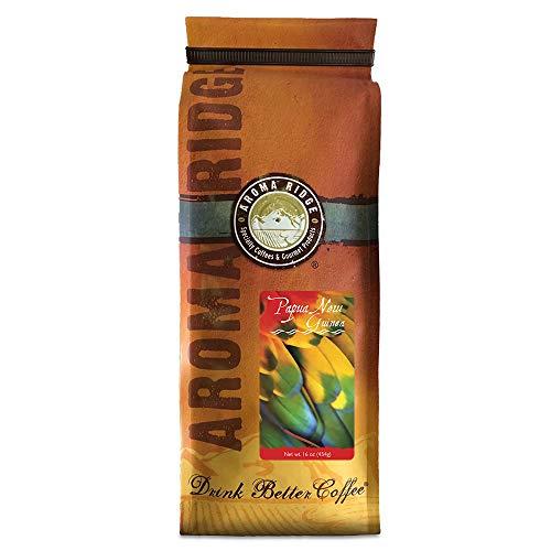 Aroma Ridge, Papua New Guinea Coffee, 1 lb Whole Bean