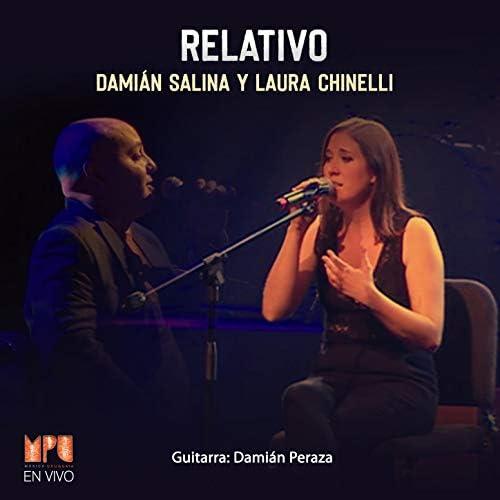 Damián Salina, Laura Chinelli & Damián Peraza