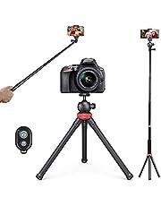 treppiedi cellulare, Orthland Mini Estensibile 3 in 1 bastone selfie, con Telecomando Wireless treppiedi fotocamera Compatibile con Smartphones, fotocamera,iPhone, ECC