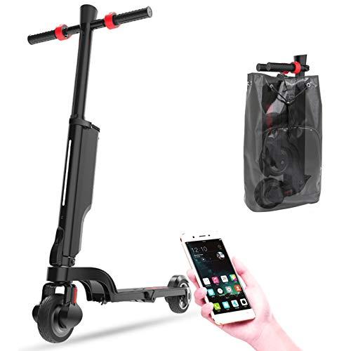 Patinete Electrico con Bluetooth, Scooter Eléctrico Plegable, Patin Electrico Adulto con Luz...