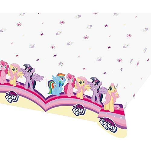 Amscan- Tovaglia 120 X 180 Cm My Little Pony, Multicolore, 7AM9902511