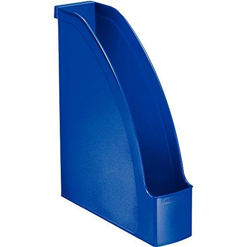 LEITZ 24760035 - Cajetines de Archivo Plus Lomo 70 color azul