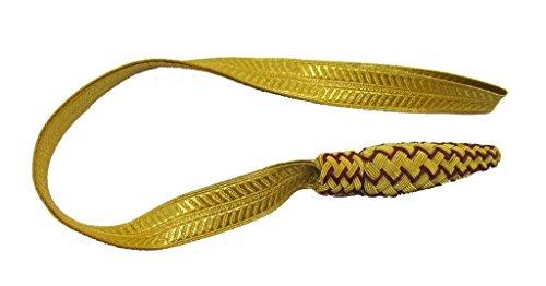 Uniform Store R225 - Nudo de espada de Londres, color dorado y rojo