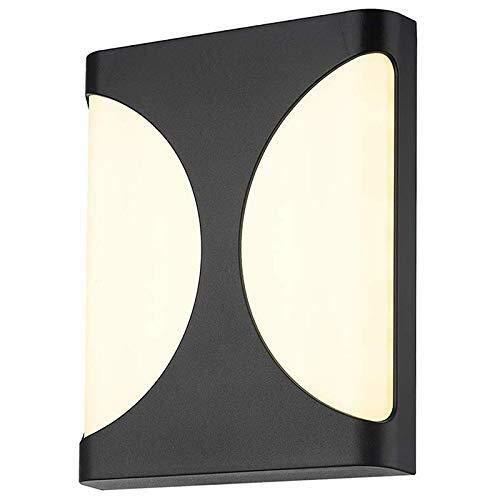 WY-YAN LED al Aire Libre Ligero de la Pared del Pasillo Interior y al Aire Libre la Noche la luz del jardín lámpara de Pared Impermeable Ligero de la Pared