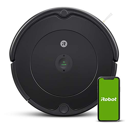 iRobot Roomba 692 Robot Vacuum-Wi-Fi Connectivity, Works with Alexa, Good for Pet Hair, Carpets, Hard Floors, Self-Charging, Charcoal Grey (Renewed) Dining Features Kitchen Robotic Vacuums